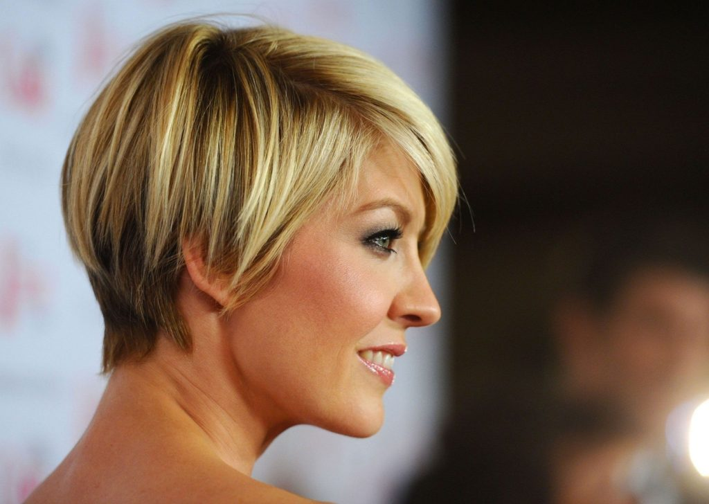 Fringed razor cut Cute short hairstyles for women