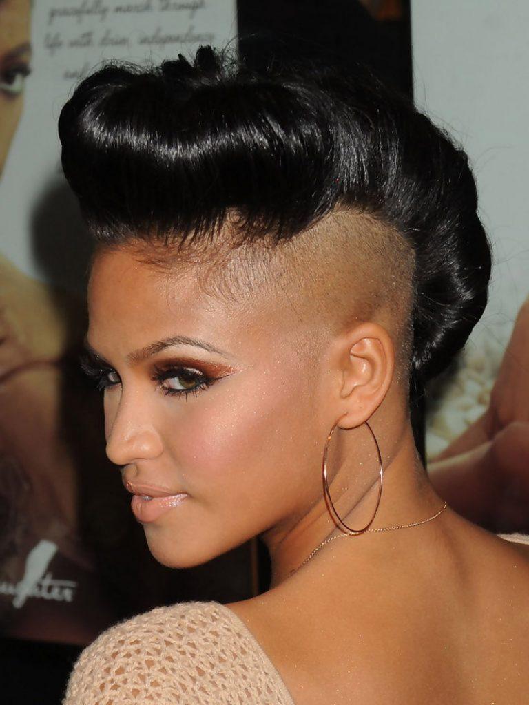 Glamorous Mohawk - Short mohawk hairstyles for black women