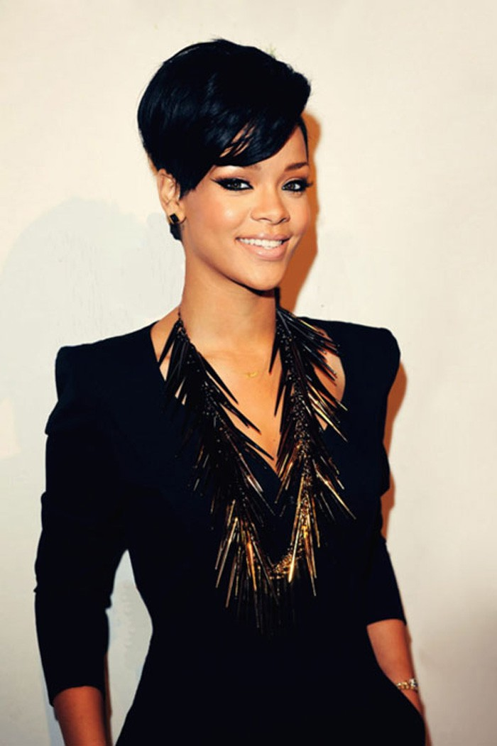 How To Wear Short Black Hairstyles With Bangs Designs By Brittney