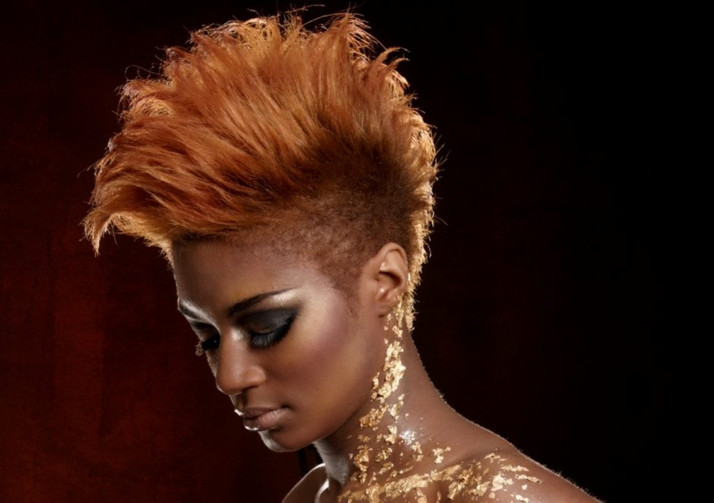 The Most Beautiful Short Mohawk Hairstyles For Black Women