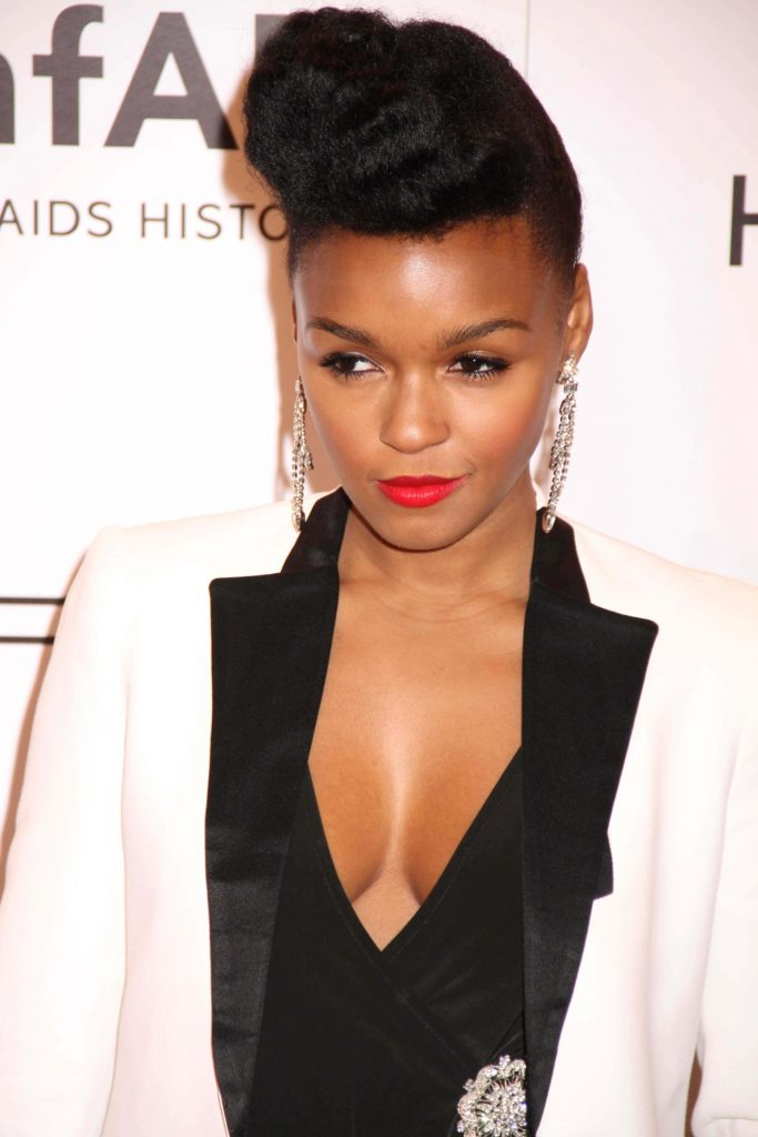 Twisted pompadour Very short hairstyles for black women