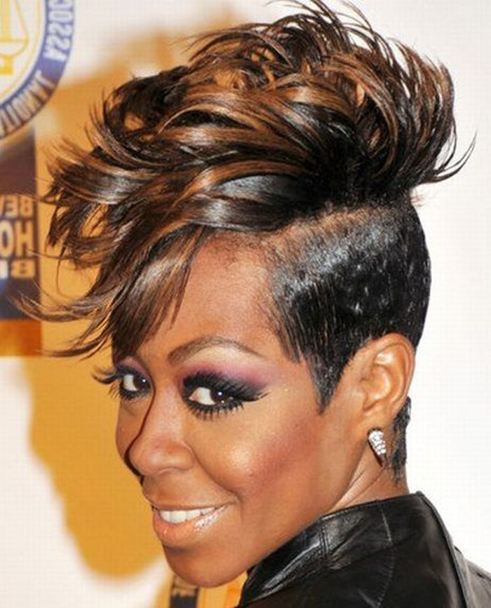 The Most Beautiful Short Mohawk Hairstyles For Black Women Designs By Brittney